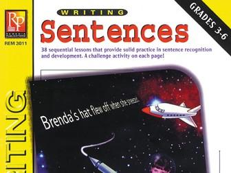 Writing Sentences: Writing Basics Series