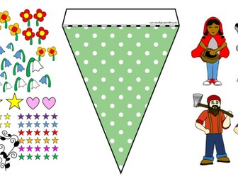 Little Red Riding Hood Bunting Maker
