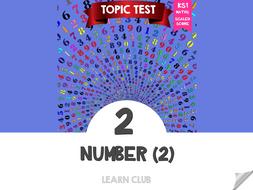 KS1 Maths Topic Test - Number