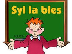 Syllables (KS1 and KS2)