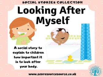 Looking after myself social story