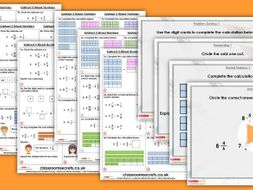 Year 5 Subtract 2 Mixed Numbers Spring Block 2 Step 15 Maths Lesson Pack