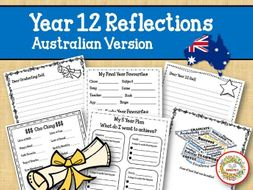 Year 12 Reflections  Writing Project - Australian Version