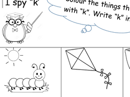 Phonics Phase 2 Letters and Sounds Worksheet. Letter