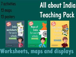 All about India - Teaching pack