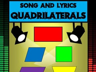 Quadrilaterals Song by Mr A, Mr C and Mr D Present