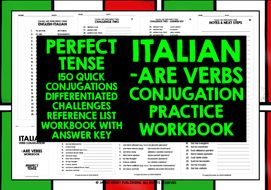 ITALIAN--ARE-VERBS-PERFECT-TENSE.zip