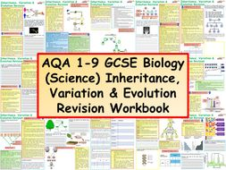 AQA 1-9 GCSE Biology (Science) Inheritance, Variation ...