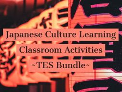 Japanese Classroom Activities