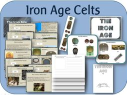 KS2 History Iron Age Pack - PowerPoint lessons, activities and display