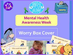 Mental Health Awareness Week Worry Box Cover