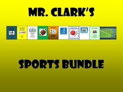 PE Sports Activities Bundle
