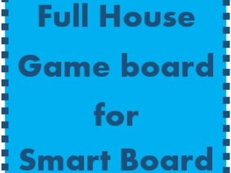 House Game boards for the Smartboard