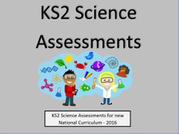 KS2 Science Assessments and Tracking