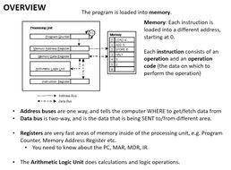 CPU: Fetch, Decode, Execute (GCSE LEVEL)