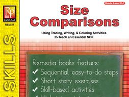 Size Comparisons: Readiness Skills Series 2