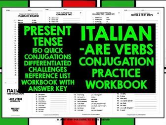 ITALIAN ARE VERBS CONJUGATION 1