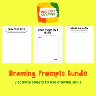 Drawing Prompts Bundle