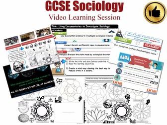 Video Learning Session - EDUCATION - L20/20 [ WJEC EDUQAS GCSE Sociology]