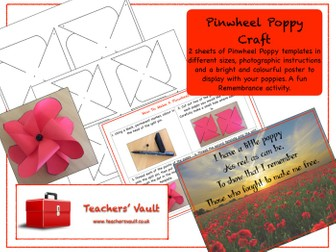 Pinwheel Poppy Craft