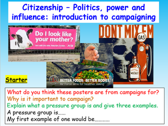Campaigning Citizenship