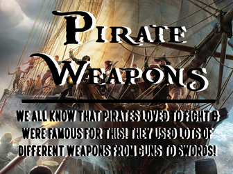 Pirate Weapons
