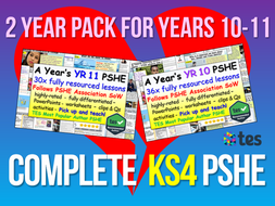 Complete KS4 PSHE + RSE