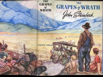 Y9 AQA Lit/Lang transition Grapes of Wrath 6 Lessons SMSC, PSHCE