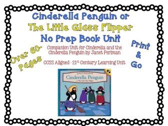 No Prep Book Study for Cinderella Penguin