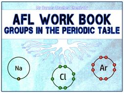GCSE Chemistry 1-9: Groups in the Periodic Table AfL Work Book