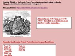 Mayan Writing Activity (Spanish)