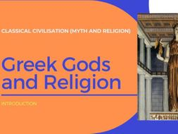 Ancient Greece - Gods and Religion
