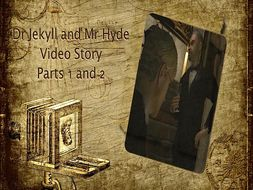 Jekyll and Hyde Parts 1 and 2 - Video, Comic and Worksheet Pack