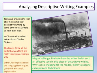 Creative Writing Examples