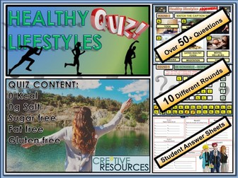 PSHE Healthy Lifestyles