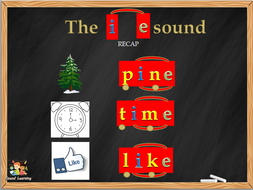 Teach the I_E split digraph, phonics, reading, spelling and writing.