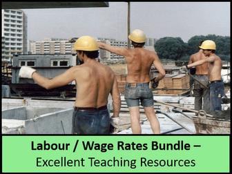 Economics: Lesson 44 - Labour: wage differences (minimum / min wage