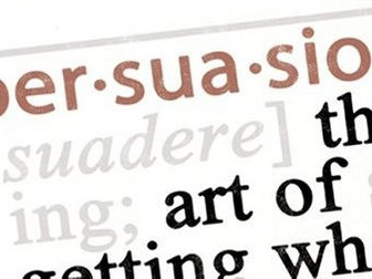 Analysing Persuasive Writing. GCSE English Language. Edexcel (Paper 2). A01, A02, A05