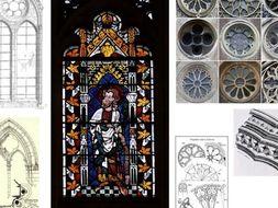 Gothic Architecture Windows