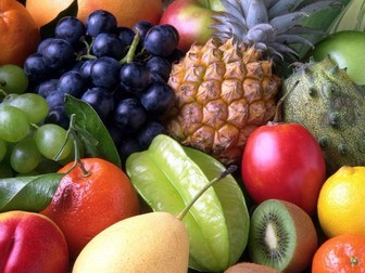 Spanish game Pasapalabra to practice Fruits vocabulary (GCSE, AS level)