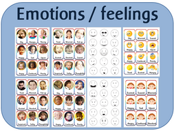 Feelings / emotions cards