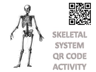 Body Systems: Skeletal System QR code Activity