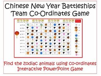 Chinese New Year Battleships Team  Game