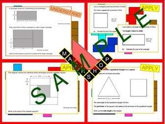 Area and Perimeter GCSE Revision