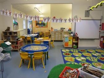 Nursery and Reception Writing Progress Indicators