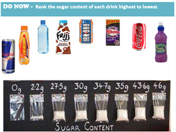 Fats and Sugars Lesson