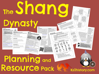 Shang Dynasty Planning Pack