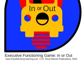 Executive Functioning Card Game: In or Out