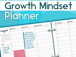 Growth Mindset Planner: A Weekly Planner for Busy Professionals