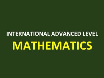 Pure Mathematics 3 A Level PowerPoint Bundle